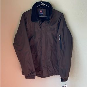 NWT men's Chaps brand all weather rip stop jacket